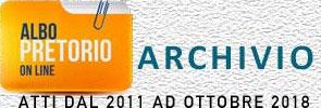 ARCHIVIO ATTI DAL 2011 AD OTTOBRE 2018